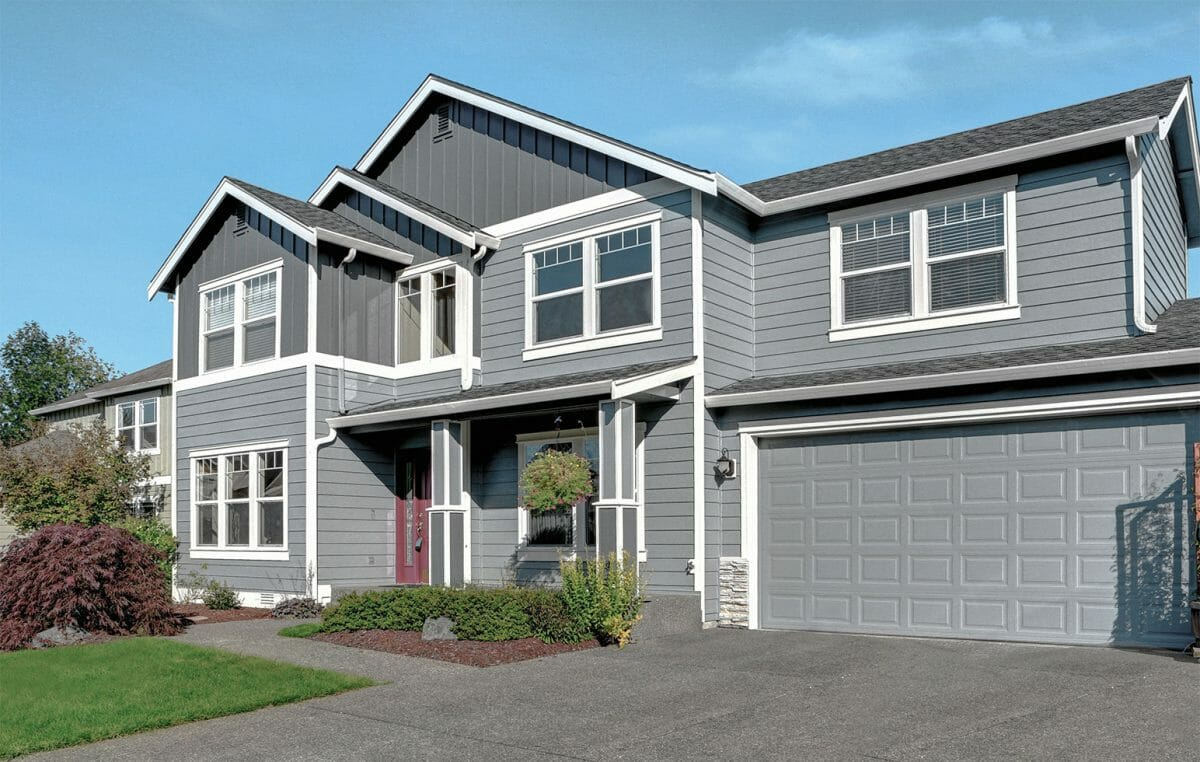 James Hardie Plank Siding Cedarmill Colourplus Statement collection